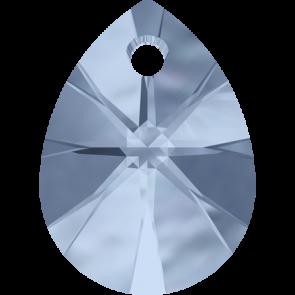 Pandantiv Swarovski 6128 XILION MINI PEAR PENDANT Denim Blue (266) 8 mm