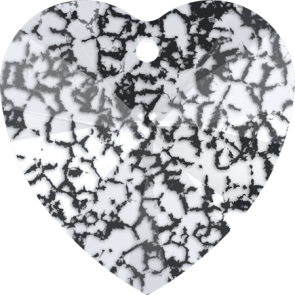Pandantiv Swarovski 6228 XILION HEART PENDANT Crystal Black Patina (001 BLAPA) 10,3 x 10 mm