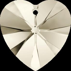 Pandantiv Swarovski 6228 XILION HEART PENDANT Crystal Silver Shade (001 SSHA) 10,3 x 10 mm
