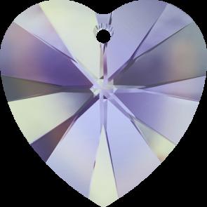 Pandantiv Swarovski 6228 XILION HEART PENDANT Crystal Vitrail Light (001 VL) 10,3 x 10 mm