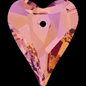 Pandantiv Swarovski 6240 WILD HEART PENDANT Crystal Astral Pink (001 API) 12 mm
