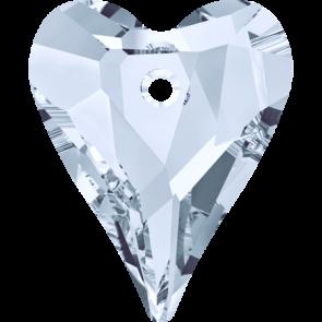 Pandantiv Swarovski 6240 WILD HEART PENDANT Crystal Blue Shade (001 BLSH) 12 mm