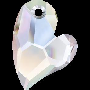 Pandantiv Swarovski 6261 DEVOTED 2 U HEART Crystal AB (001 AB) 27 mm