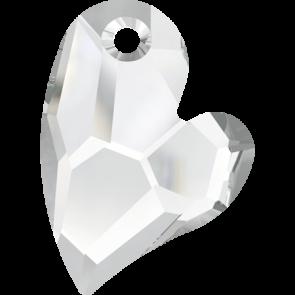 Pandantiv Swarovski 6261 DEVOTED 2 U HEART Crystal (001) 17 mm