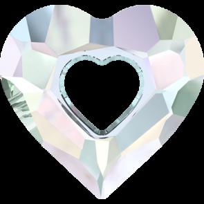 Pandantiv Swarovski 6262 MISS U HEART Crystal AB (001 AB) 34 mm