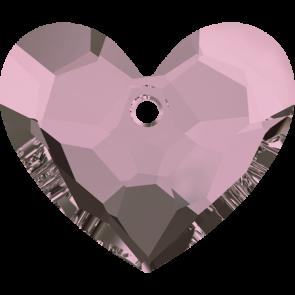 Pandantiv Swarovski 6264 TRULY IN LOVE HEART Crystal Antique Pink (001 ANTP) 28 mm