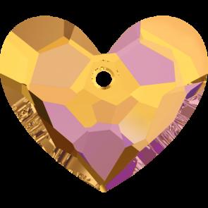 Pandantiv Swarovski 6264 TRULY IN LOVE HEART Crystal Astral Pink (001 API) 28 mm