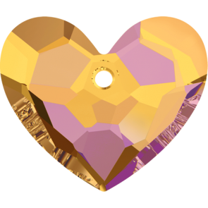 Pandantiv Swarovski 6264 TRULY IN LOVE HEART Crystal Astral Pink (001 API) 36 mm