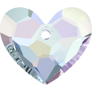 Pandantiv Swarovski 6264 TRULY IN LOVE HEART Crystal AB (001 AB) 18 mm