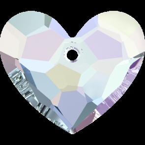 Pandantiv Swarovski 6264 TRULY IN LOVE HEART Crystal AB (001 AB) 28 mm