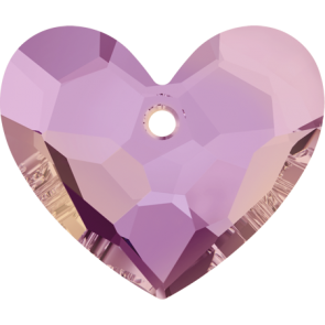Pandantiv Swarovski 6264 TRULY IN LOVE HEART Crystal Lilac Shadow (001 LISH) 28 mm