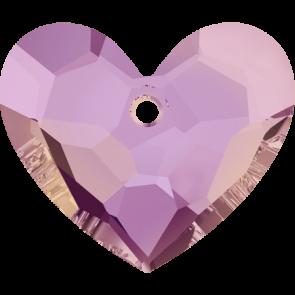 Pandantiv Swarovski 6264 TRULY IN LOVE HEART Crystal Lilac Shadow (001 LISH) 36 mm