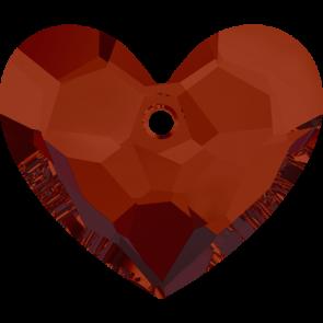 Pandantiv Swarovski 6264 TRULY IN LOVE HEART Crystal Red Magma (001 REDM) 18 mm