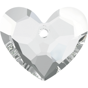 Pandantiv Swarovski 6264 TRULY IN LOVE HEART Crystal (001) 28 mm