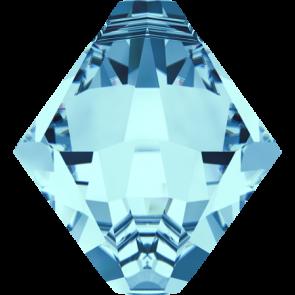 Pandantiv Swarovski 6328 XILION BICONE PENDANT Aquamarine (202) 6 mm