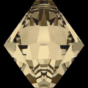 Pandantiv Swarovski 6328 XILION BICONE PENDANT Crystal Golden Shadow (001 GSHA) 6 mm