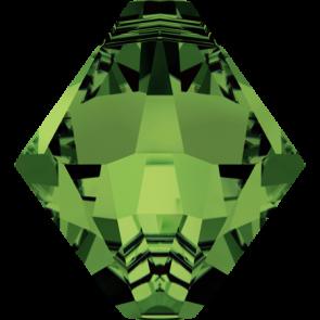 Pandantiv Swarovski 6328 XILION BICONE PENDANT Dark Moss Green (260) 6 mm