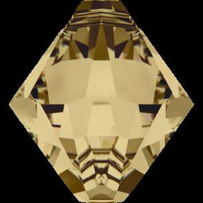 Pandantiv Swarovski 6328 XILION BICONE PENDANT Light Colorado Topaz (246) 6 mm