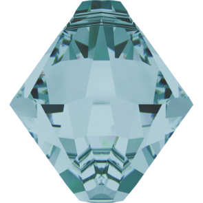Pandantiv Swarovski 6328 XILION BICONE PENDANT Light Turquoise (263) 6 mm