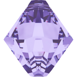 Pandantiv Swarovski 6328 XILION BICONE PENDANT Tanzanite (539) 6 mm
