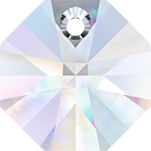 Pandantiv Swarovski 6401 OCTAGON PENDANT Crystal AB (001 AB) 8 mm