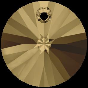 Pandantiv Swarovski 6428 XILION PENDANT Crystal Bronze Shade (001 BRSH) 6 mm