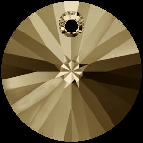 Pandantiv Swarovski 6428 XILION PENDANT Crystal Golden Shadow (001 GSHA) 6 mm
