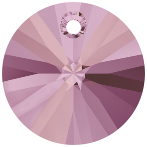 Pandantiv Swarovski 6428 XILION PENDANT Crystal Lilac Shadow (001 LISH) 12 mm