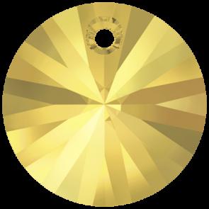 Pandantiv Swarovski 6428 XILION PENDANT Crystal Metallic Sunshine (001 METSH) 6 mm