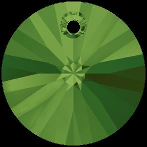 Pandantiv Swarovski 6428 XILION PENDANT Dark Moss Green (260) 8 mm - Xilion