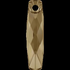 Pandantiv Swarovski 6460 Crystal Golden Shadow (001 GSHA) 20 mm
