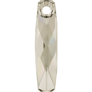 Pandantiv Swarovski 6460 Crystal Silver Shade (001 SSHA) 20 mm