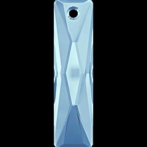 Pandantiv Swarovski 6465 QUEEN BAGUETTE PENDANT Aquamarine (202) 13,5x6 mm