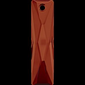 Pandantiv Swarovski 6465 QUEEN BAGUETTE PENDANT Crystal Red Magma (001 REDM) 13,5x6 mm