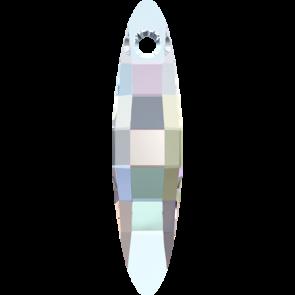 Pandantiv Swarovski 6470 ELLIPSE PENDANT Crystal AB (001 AB) 32 mm