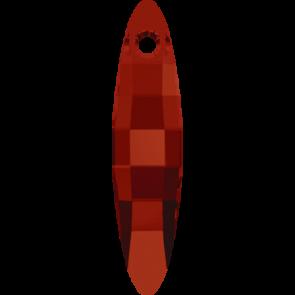 Pandantiv Swarovski 6470 ELLIPSE PENDANT Crystal Red Magma (001 REDM) 32 mm
