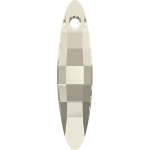 Pandantiv Swarovski 6470 ELLIPSE PENDANT Crystal Silver Shade (001 SSHA) 32 mm