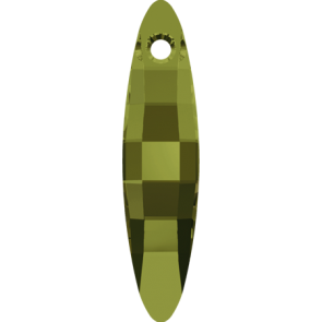 Pandantiv Swarovski 6470 ELLIPSE PENDANT Olivine (228) 32 mm