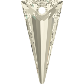 Pandantiv Swarovski 6480 SPIKE PENDANT Crystal Silver Shade (001 SSHA) 18 mm