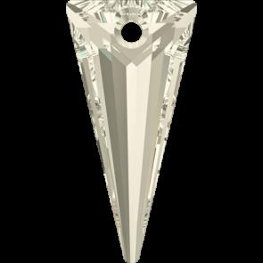 Pandantiv Swarovski 6480 SPIKE PENDANT Crystal Silver Shade (001 SSHA) 28 mm