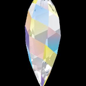 Pandantiv Swarovski 6540 TWISTED DROP PENDANT Crystal AB (001 AB) 12 mm