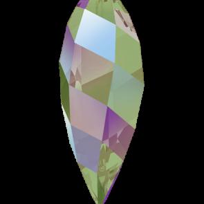 Pandantiv Swarovski 6540 TWISTED DROP PENDANT Crystal Paradise Shine (001 PARSH) 20 mm