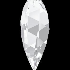 Pandantiv Swarovski 6540 TWISTED DROP PENDANT Crystal (001) 12 mm