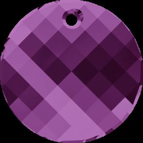 Pandantiv Swarovski 6621 TWIST PENDANT Amethyst (204) 18 mm