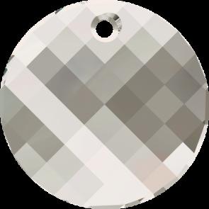 Pandantiv Swarovski 6621 TWIST PENDANT Crystal Silver Shade (001 SSHA) 18 mm