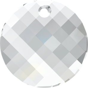 Pandantiv Swarovski 6621 TWIST PENDANT Crystal (001) 28 mm