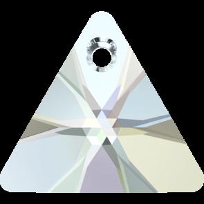 Pandantiv Swarovski 6628 XILION TRIANGLE PENDANT Crystal AB (001 AB) 8 mm