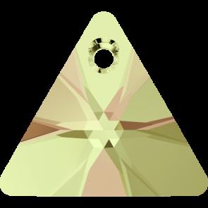 Pandantiv Swarovski 6628 XILION TRIANGLE PENDANT Crystal Luminous Green (001 LUMG) 8 mm