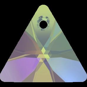 Pandantiv Swarovski 6628 XILION TRIANGLE PENDANT Crystal Paradise Shine (001 PARSH) 12 mm