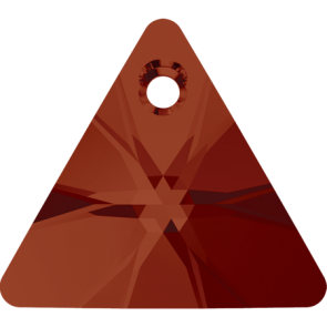 Pandantiv Swarovski 6628 XILION TRIANGLE PENDANT Crystal Red Magma (001 REDM) 8 mm